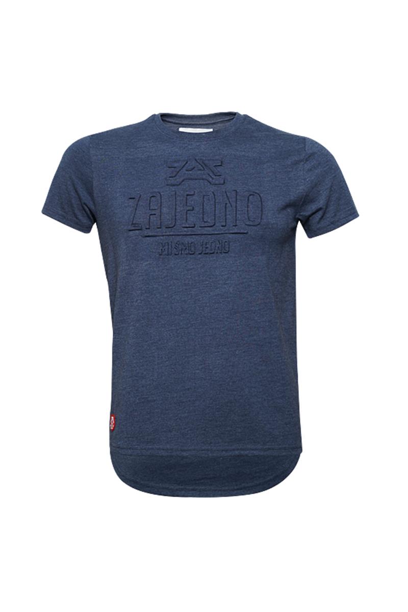 T-Shirt '3D Blue' Men