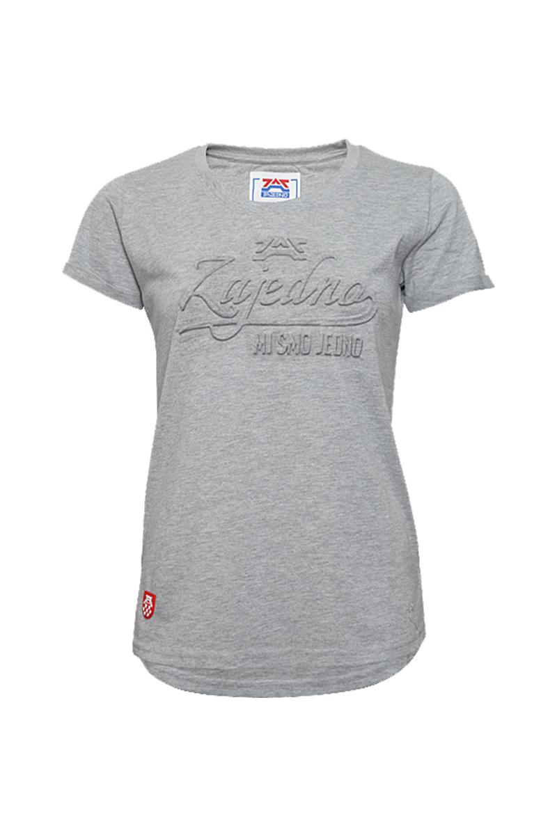 T-Shirt '3D Grey' Women
