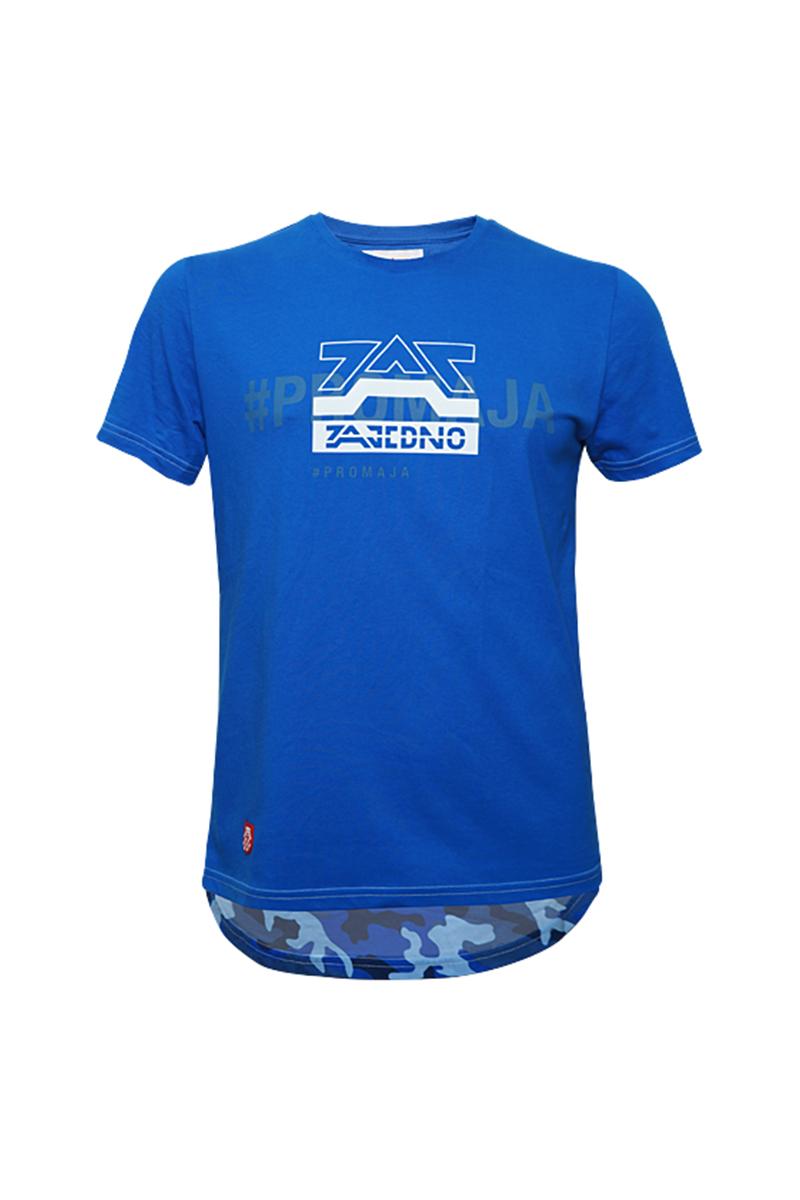 T-Shirt Blue 'Camo' Men
