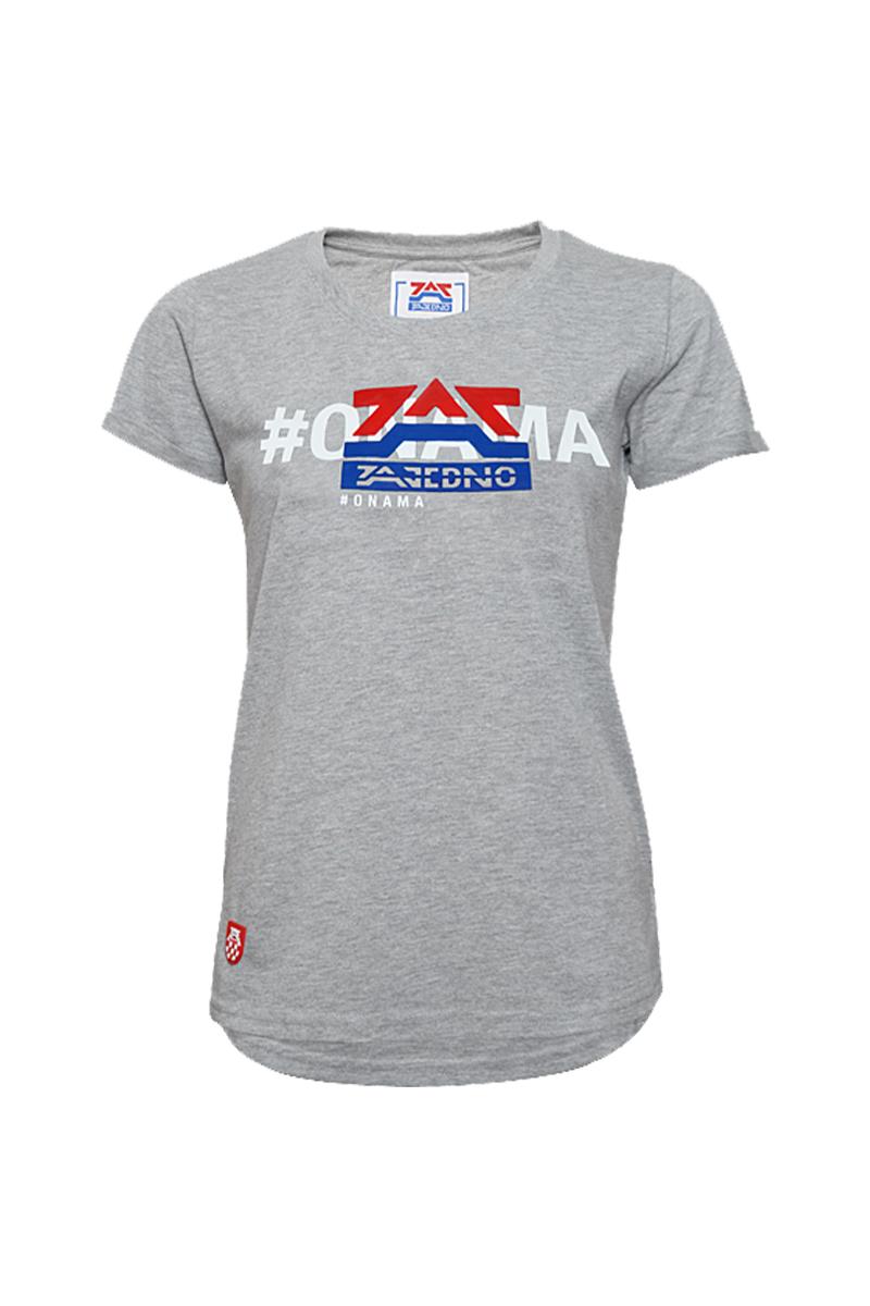 T-Shirt Grey 'Classic' Women